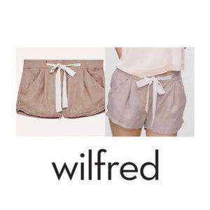 ARITZIA WILFRED Linen Alegra Drawstring Shorts